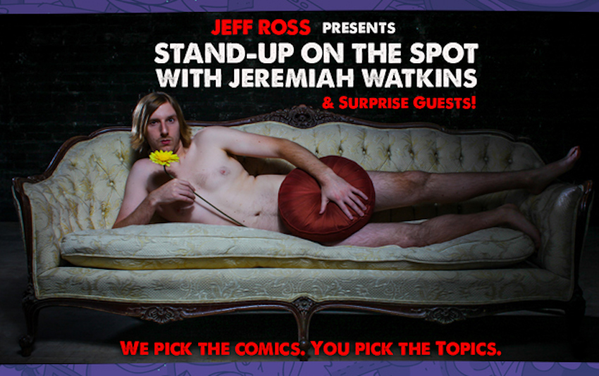 Jeff Ross Presents Stand-Up on the Spot with Jeremiah Watkins, Live at Just For Laughs