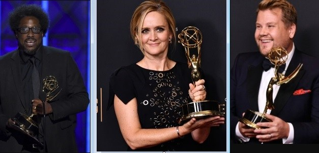 W. Kamau Bell, Samantha Bee and James Corden take home Creative Arts Emmy Awards