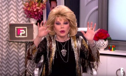 Fashion Police on E! will end on Nov. 27, 2017 with unaired footage of the late Joan Rivers