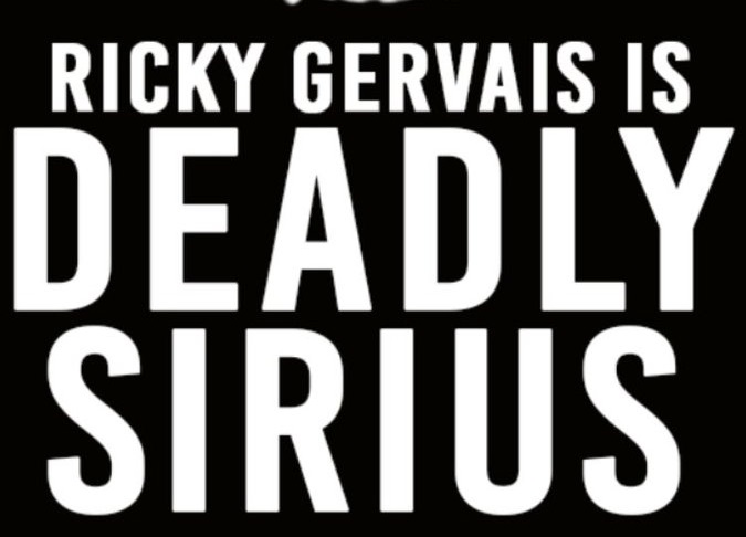 Ricky Gervais Is Deadly Sirius starts weekly radio show Oct. 24, 2017