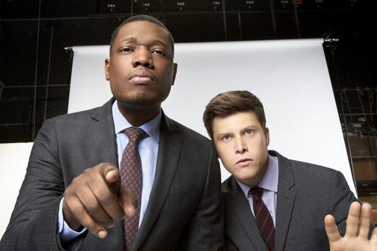 Saturday Night Live reinstates Colin Jost as a co-head writer, promotes Michael Che as well