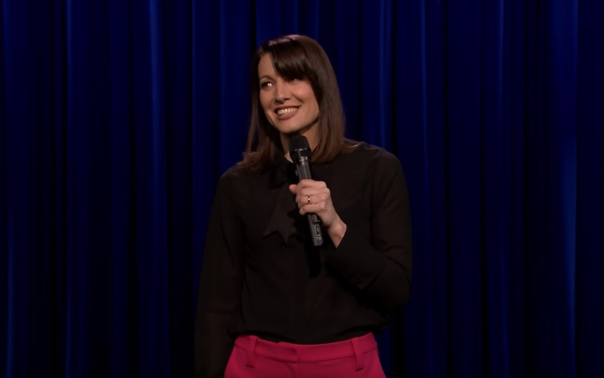 Bonnie McFarlane on The Tonight Show Starring Jimmy Fallon