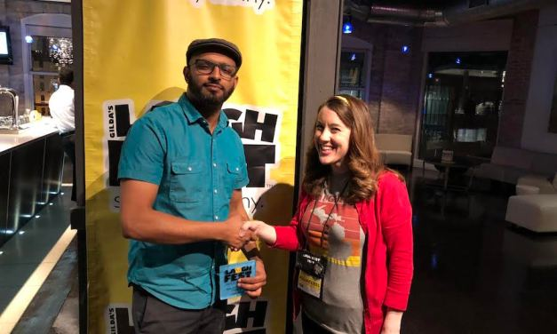 Ali Sultan wins Best of the Midwest comedy competition at Gilda's LaughFest 2018