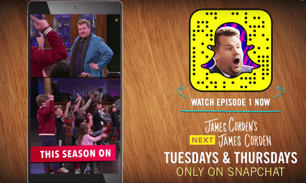 "James Corden seeks ""Next James Corden"" in CBS Snapchat series"