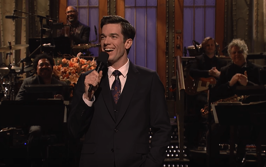 John Mulaney hosted Saturday Night Live. Watch his monologue!