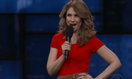 Heather Pasternak on The Late Show with Stephen Colbert