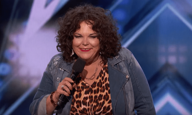Vicki Barbolak auditions for America's Got Talent 2018