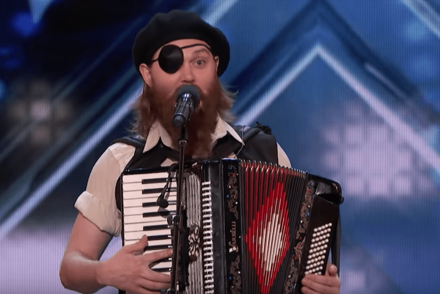 """""""French Accent"""" Kevin Bennett wins over the crowd on America's Got Talent 2018"""