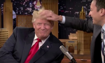 Fallon sorry about playing nice with Trump; Trump, of course, not so nice