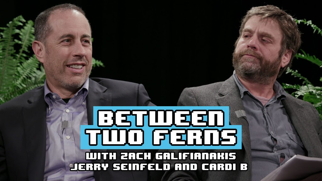 Between Two Ferns with Cardi B and Jerry Seinfeld!