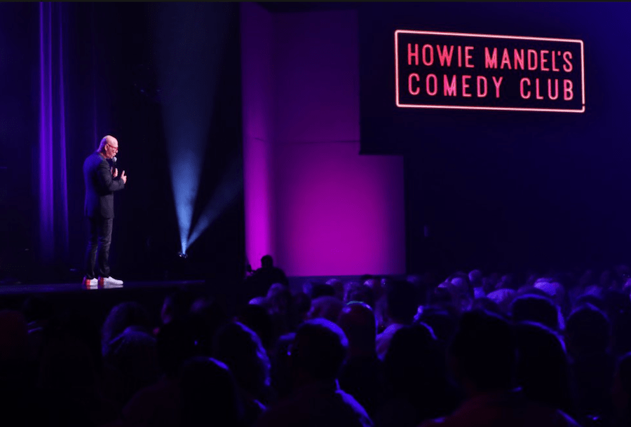 Howie Mandel opened a comedy club inside Hard Rock Hotel & Casino Atlantic City