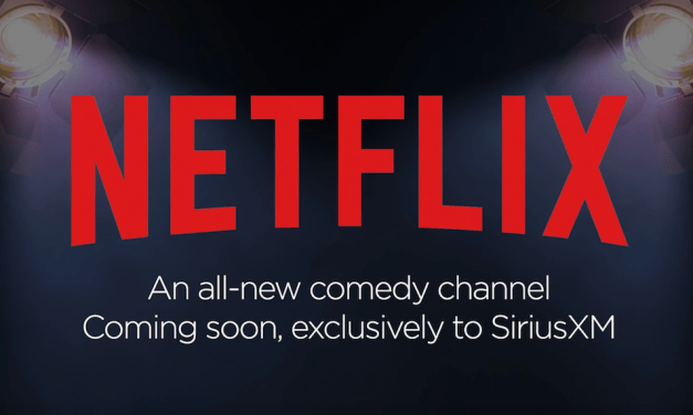 Netflix will launch an all-comedy SiriusXM radio channel by 2019