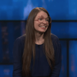 Katie Hannigan's network TV debut on The Late Show with Stephen Colbert