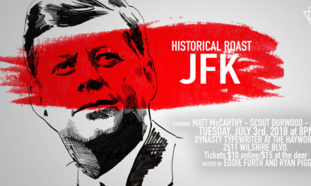 Live show Historical Roast gets a Netflix series order thanks to Jeff Ross