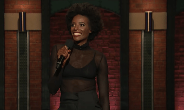 Zainab Johnson on Late Night with Seth Meyers