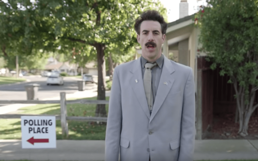 Late-night TV election sketches brought back Borat, Dr. Evil and Triumph the Insult Comic Dog