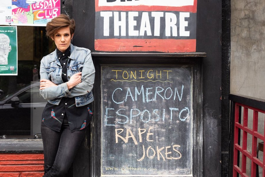 "Review: Cameron Esposito, ""Rape Jokes"""