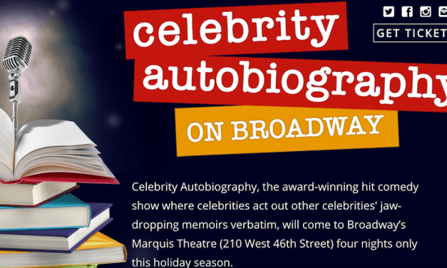 Celebrity Autobiography books limited Broadway run
