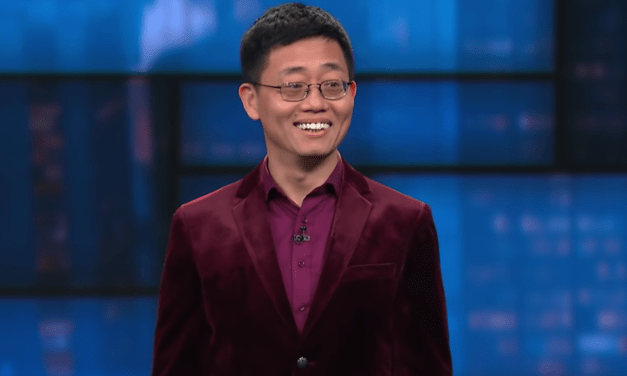 Joe Wong on The Late Show with Stephen Colbert