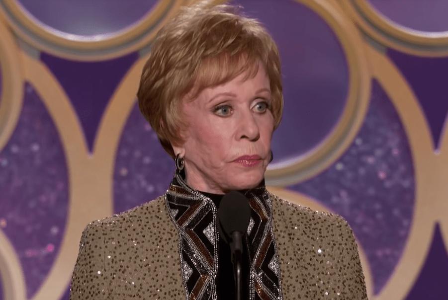Watch Carol Burnett accept the first Carol Burnett Award from the Golden Globes (and read her acceptance speech)