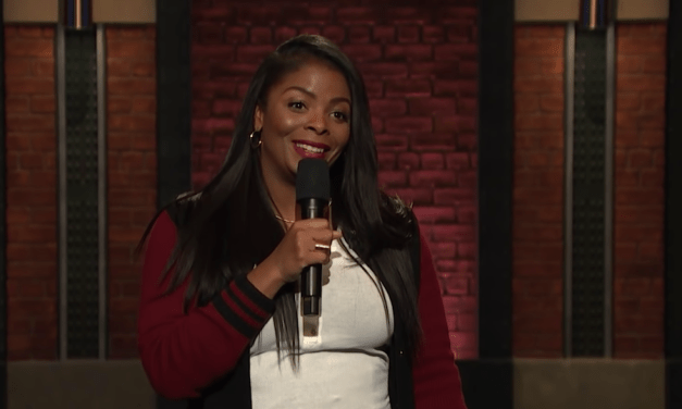 Janelle James on Late Night with Seth Meyers