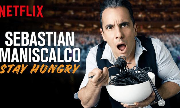 "Review: Sebastian Maniscalco, ""Stay Hungry,"" on Netflix"