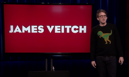 James Veitch on The Tonight Show Starring Jimmy Fallon