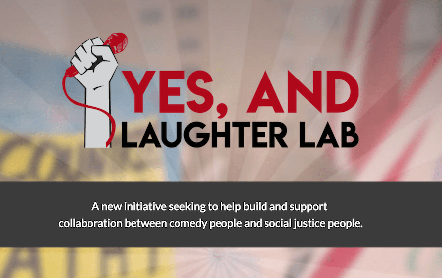 """New nonprofit project """"Yes, And…Laughter Lab"""" will promote purpose-driven comedy"""