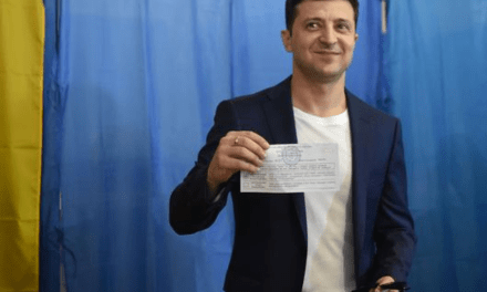 Comedian who played president on TV elected actual president of Ukraine