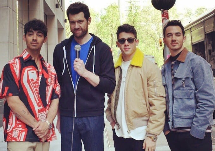 """Jonas Brothers join Billy Eichner """"on the Street"""""""