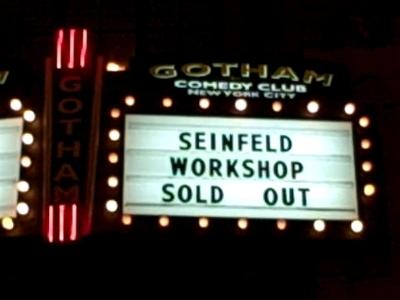 Seinfeldworkshop