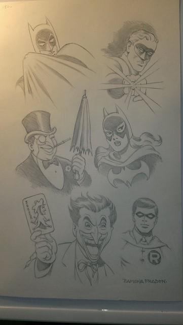 Bat Family by Ramona fradon