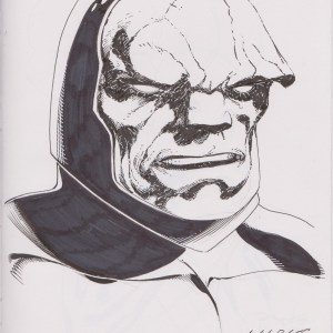 Darkseid by Marat Mychaels