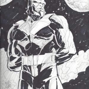 Darkseid by Jesse Mesa Toves