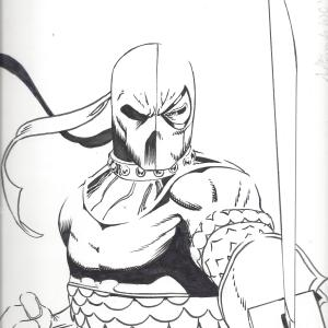 Deathstroke by Jeffrey Edwards