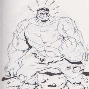 Hulk by Derek Fridolfs