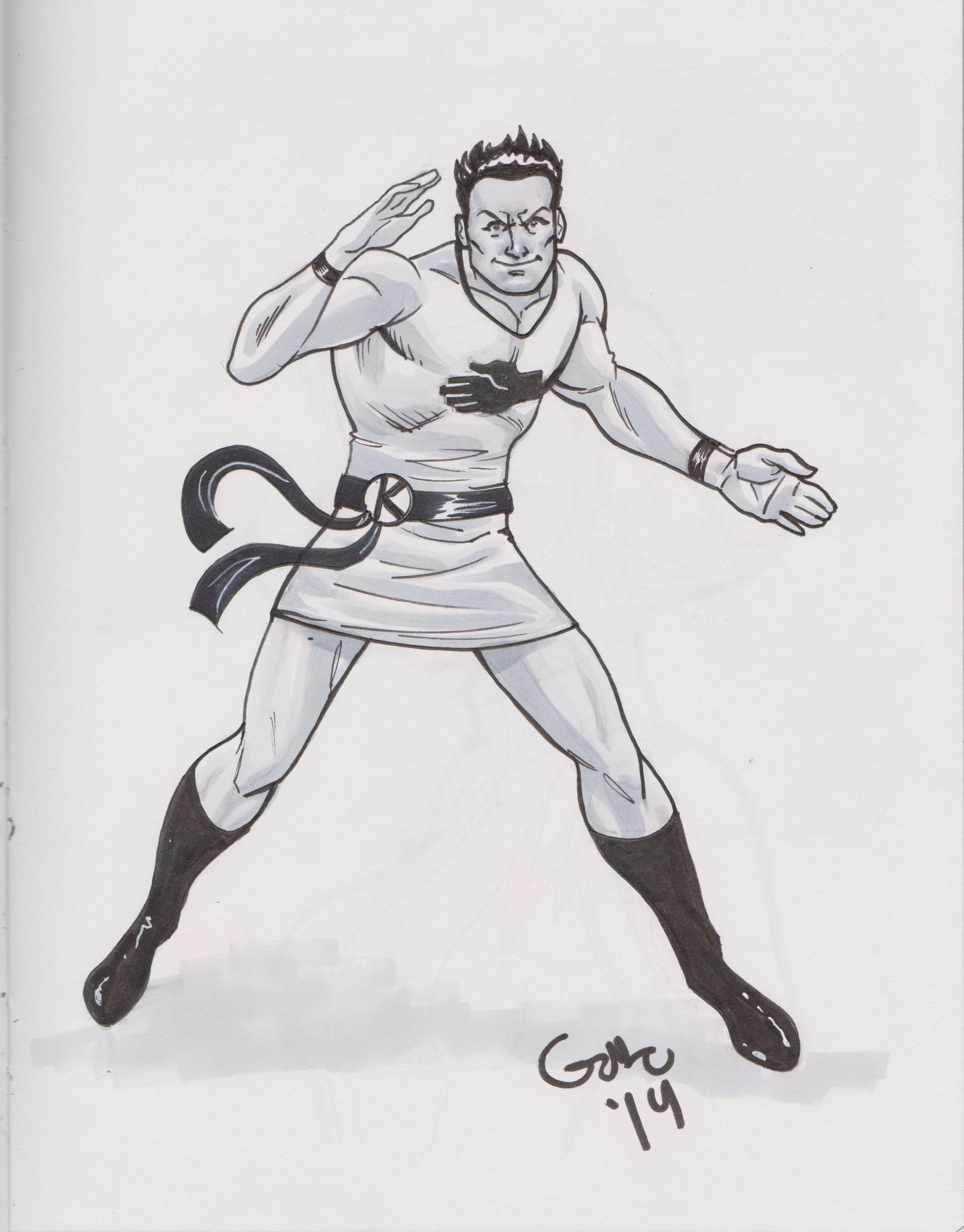 Karate Kid by Gabe Eltaeb