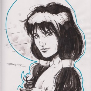 Phantom Girl by Art Thibert