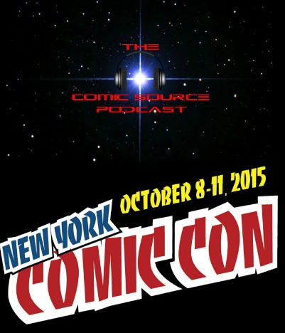 The Comic Source Podcast 038 NYCC News