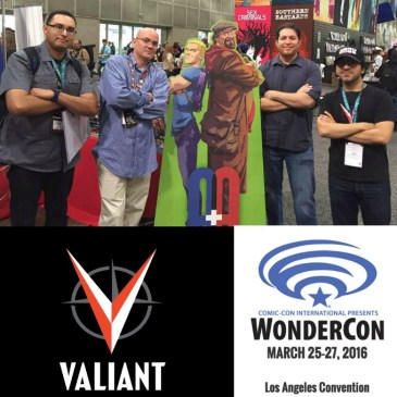 The Comic Source Podcast Episode 207 – Valiant Sunday – Wondercon Dinesh Shamdasani Interview