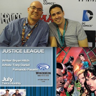 The Comic Source Podcast 075 The Wonder Con Files Tony Daniel Interview