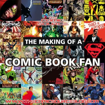 The Comic Source Podcast 095 Making of a Comic Fan – 26 Must Read Comics