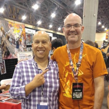 The Comic Source Podcast Episode 107 Phoenix Comicon Interview Heath Corson
