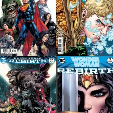 The Comic Source Podcast 104 Rebirth Reviews-Action Comics, Aquaman, Detective Comics, Wonder Woman