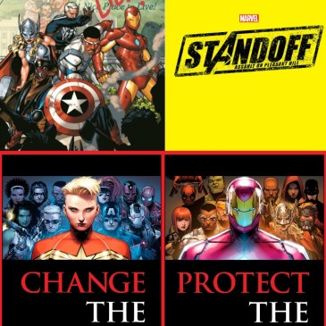 The Comic Source Podcast Episode 118 State of the Marvel Universe – Avengers Stand Off & Civil War II