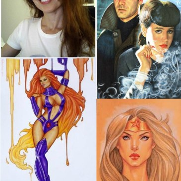 The Comic Source Podcast Episode 123 Conny Valentina Interview