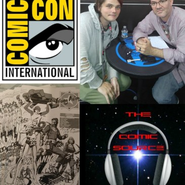 The Comic Source Podcast Episode 136 San Diego Sound Bytes; Gerard Way
