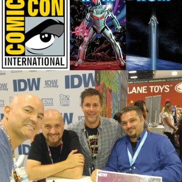 The Comic Source Podcast Episode 144 San Diego Sound Bytes; Rom Creative Team