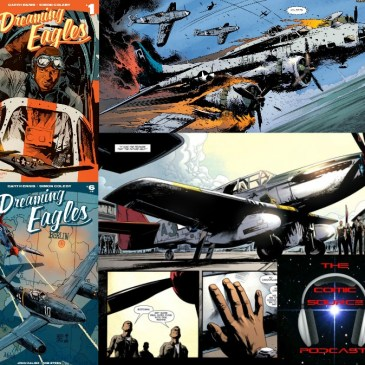 The Comic Source Podcast Episode 0219 – AfterShock Mondays – Flashback Spotlight on Dreaming Eagles