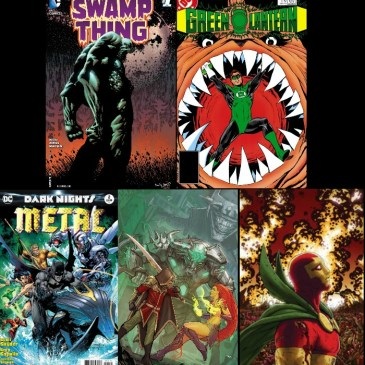 The Comic Source Podcast Episode 195 – Favorite Len Wein Runs, Dark Nights Metal #2, Teen Titans #12 & Mister Miracle #2